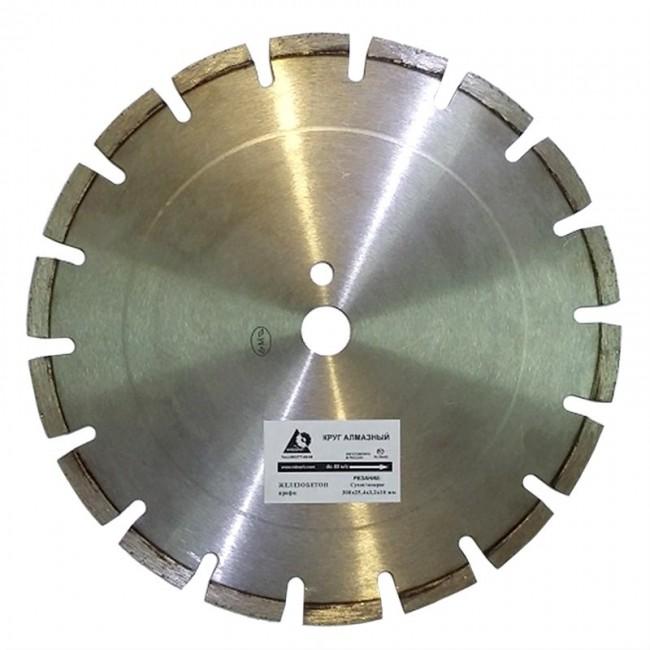 Алмазный диск по железобетону 350х25,4 мм плита