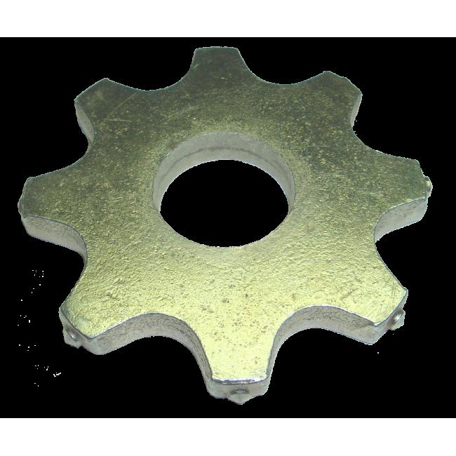 Фрезеровальная ламель для фрезеровальной машины 80x30x8 мм