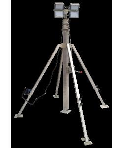 Осветительная вышка СПС-Р 5,5 м LED 4х100