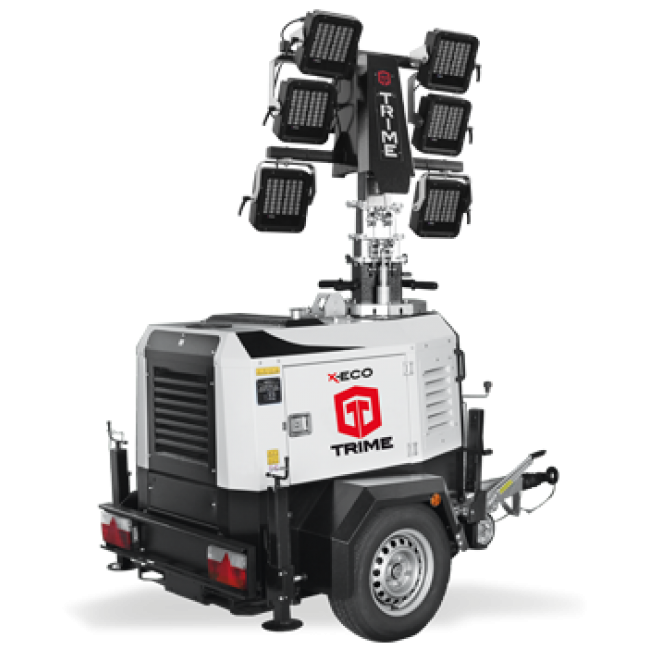 Дизельная осветительная мачта TRIME X-Eco 6x160W 48V LED - 9M