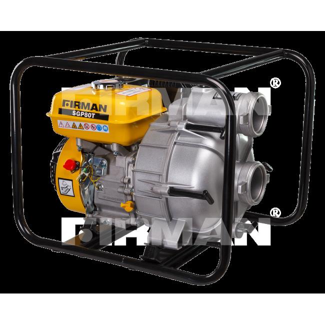 Бензиновая мотопомпа для грязной воды Firman SGP80Т