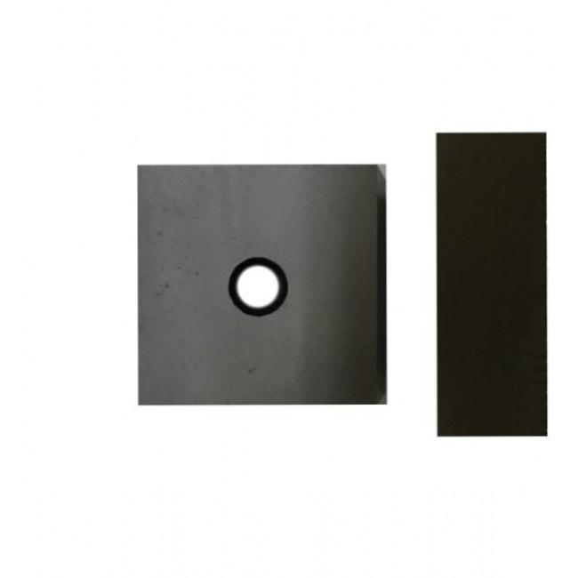 Нож для станка ALBA 80x80x30 ( 1 отв.М18)