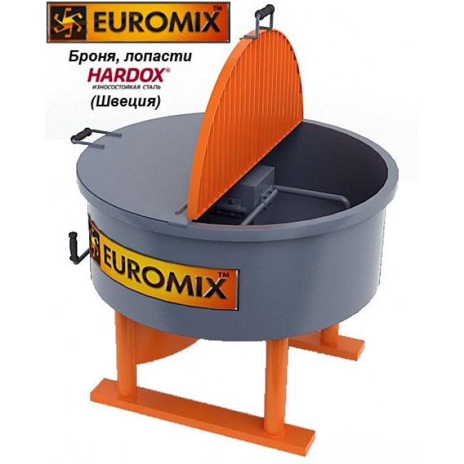 Бетоносмеситель EUROMIX 600.300М с броней