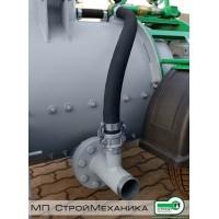 Рукав подачи воздуха в магистраль бетонопровода для пневмонагнетателя СО-241 ТОПОЛЬ