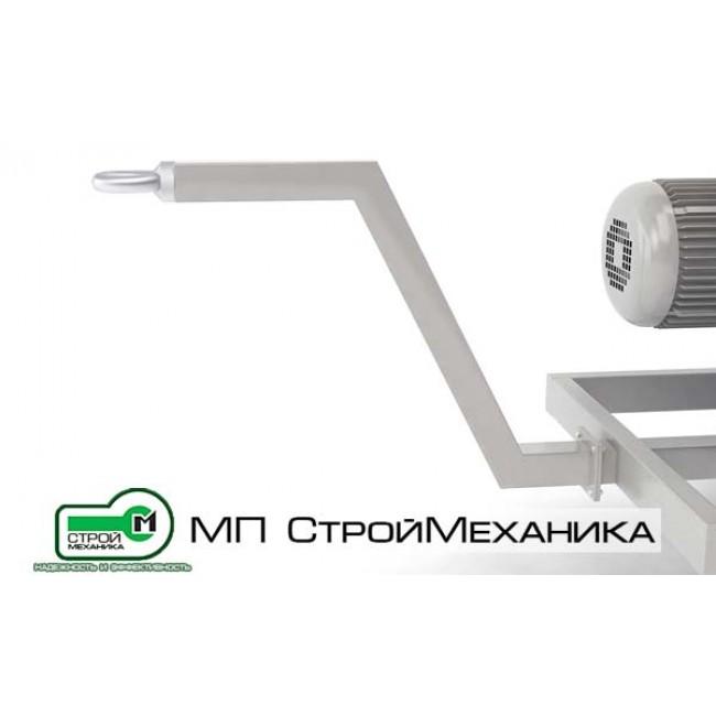 """Сцепное устройство """"дышло"""" для пневмонагнетателя СО-241 ТОПОЛЬ"""
