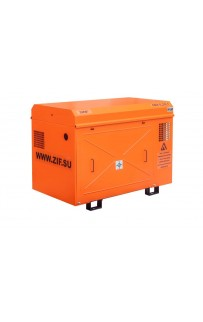 Электрический винтовой компрессор ЗИФ-СВЭ-5,2/1,0 в кожухе