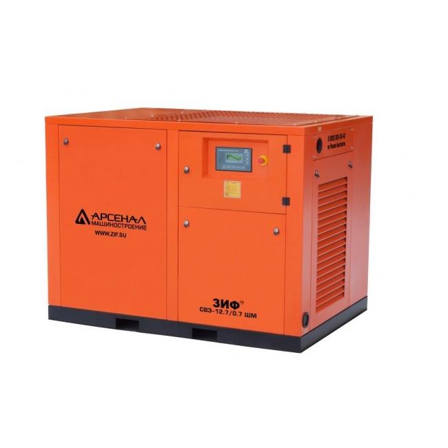 Электрический винтовой компрессор ЗИФ-СВЭ-12,7/0,7 ШМ прямой привод