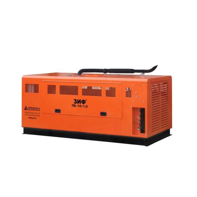 Дизельный винтовой компрессор ЗИФ-ПВ-24/1,0 на раме