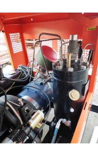 Дизельный винтовой компрессор ЗИФ-ПВ-6/1,3 на раме