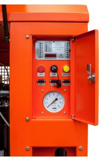 Дизельный винтовой компрессор ЗИФ-ПВ-6/1,2 на шасси