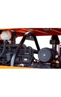 Дизельный винтовой компрессор ЗИФ-ПВ-12/1,2 (ЯМЗ) на шасси